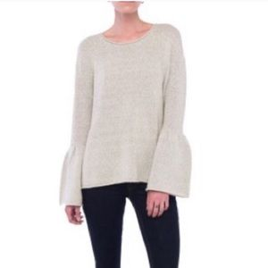 French Connection Oversized Bell Sleeve Sweater
